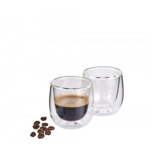 Cilio Espresso-Glas VERONA 75ml 2er Set
