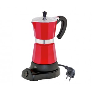 Cilio Espressokocher CLASSICO 6 Tassen rot, elektrisch