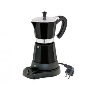 Cilio Espressokocher CLASSICO 6 Tassen schwarz, elektrisch