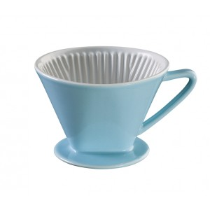 Cilio Kaffeefilter Gr.4 blau
