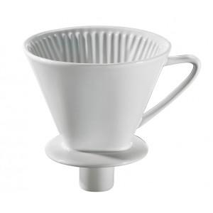 Cilio Kaffeefilter mit Stutzen Gr.4 weiß
