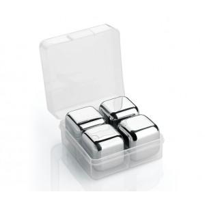 Cilio Kühlwürfel STEEL 4er Set