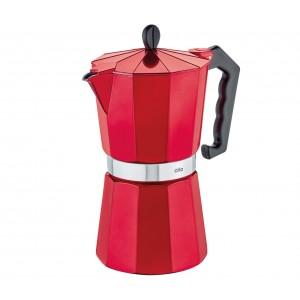 Cilio Espressokocher CLASSICO, 9 Tassen, candy red