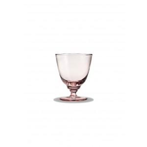 Holmegaard Flow Glas mit Fuß rosa 35 cl