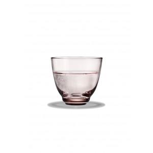 Holmegaard Flow Wasserglas rosa 35 cl