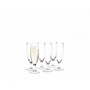 Holmegaard Royal Champagnerglas 6er Set 25cl