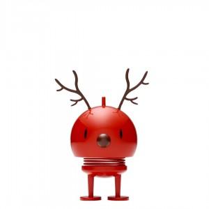 Hoptimist Medium Reindeer Bumble Red