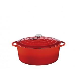 Küchenprofi Bratentopf oval 31cm rot