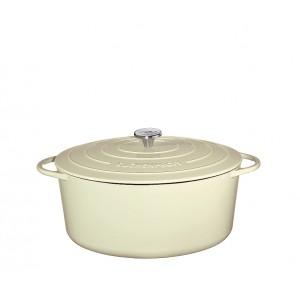 Küchenprofi Bratentopf oval 33cm creme