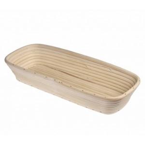 Küchenprofi Gärkörbchen, rechteckig 40cm