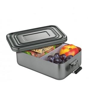 Küchenprofi Lunchbox groß Aluminium anthrazit