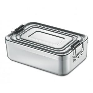 Küchenprofi Lunchbox groß Aluminium silber