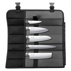 KAI WASABI BLACK Messerset Japan 6tlg.