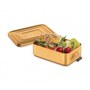 Küchenprofi Lunchbox klein Aluminium gold matt