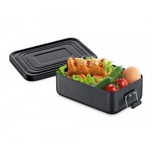 Küchenprofi Lunchbox klein Aluminium schwarz matt