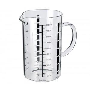 Küchenprofi Messbecher 1l, Glas