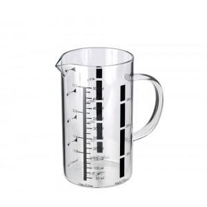 Küchenprofi Messbecher 500 ml, Glas