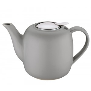Küchenprofi Teekanne LONDON grau