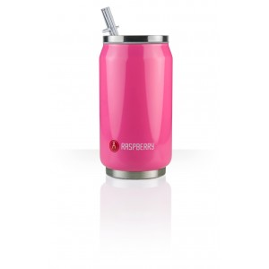 Les Artistes Paris Can'it Isoliertrinkdose 280ml Raspberry