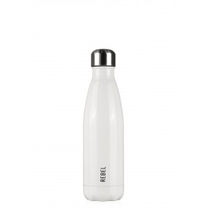 Les Artistes Paris Rebel Isoliertrinkflasche 500ml White