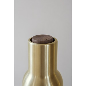 Menu Bottle Grinder Brushed Brass 2er Set Salz & Pfeffermühle