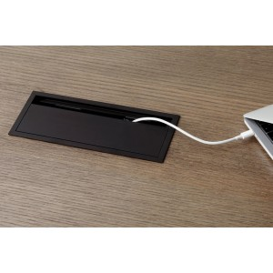 Menu Cable Tray Black  L60cm
