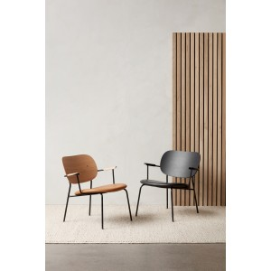 Menu Co Chair LC Black Base Natural Oak Dakar Clubsessel
