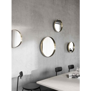 Menu Darkly Mirror Spiegel S Brushed Brass
