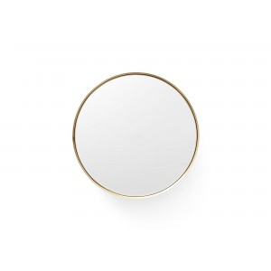 Menu Darkly Mirror Spiegel L Brushed Brass