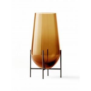 Menu Echasse Vase L Amber Bronzed Brass