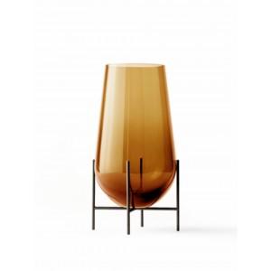 Menu Echasse Vase M Amber Bronzed Brass