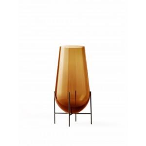 Menu Echasse Vase S Amber Bronzed Brass