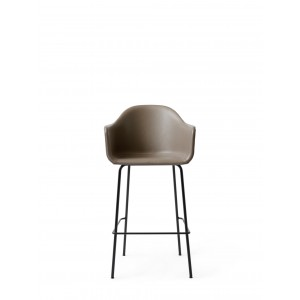 Menu Harbour Chair BC Black Steel Base Dakar Barstuhl