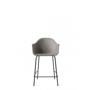 Menu Harbour Chair CC Black Steel Base Hallingdal Barstuhl