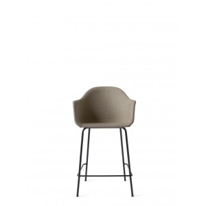 Menu Harbour Chair CC Black Steel Base Remix 2 Barstuhl