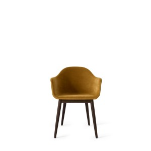 Menu Harbour Chair Dark Stained Oak City Velvet Stuhl