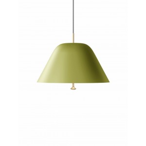 Menu Levitate Pendel Leuchte 28 Sage Green Brass