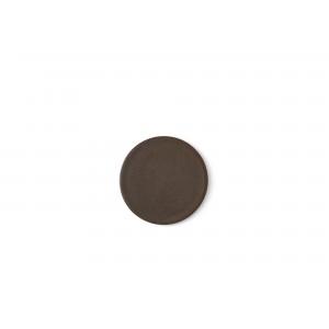 Menu New Norm Plate/Lid Teller Ø13,5cm Dark Glazed