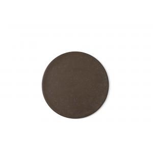 Menu New Norm Plate/Lid Teller Ø21,5cm Dark Glazed