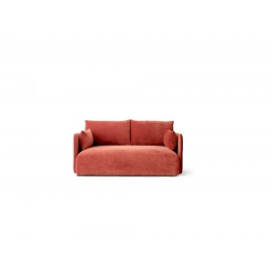 Menu Offset 2 Seater City Velvet Sofa 2-Sitzer