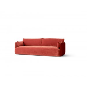 Menu Offset 3 Seater City Velvet Sofa 3-Sitzer