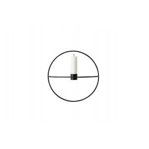 Menu POV Circle Candleholder Kerzenhalter  L Black
