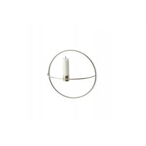 Menu POV Circle Candleholder Kerzenhalter S Silver
