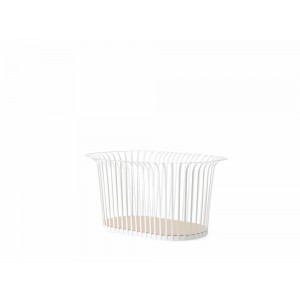 Menu Ribbon Basket Ivory