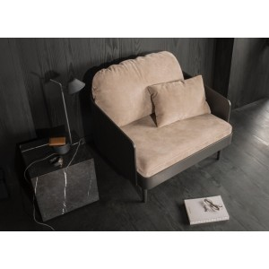 Menu Septembre Chair Royal Nubuck Ecru Stuhl