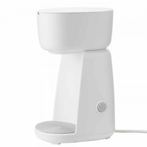 RIG-TIG FOODIE single cup Kaffeemaschine white EU