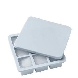 RIG-TIG FREEZE-IT Eiswürfelbox mit Deckel, groß - light blue