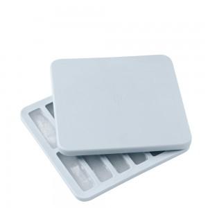 RIG-TIG FREEZE-IT Eiswürfelbox mit Deckel, klein - light blue