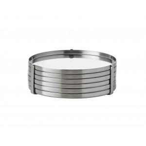 Stelton Arne Jacobsen Gläseruntersetzer 6 Stck