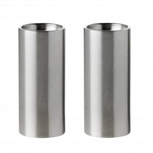 Stelton Arne Jacobsen Salz & Pfefferstreuer Set 6,5 cm